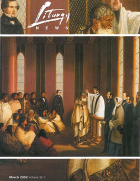 Liturgy News March 2002 cover image
