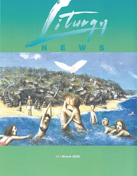 Liturgy News March 2005 cover image