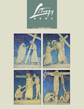 Liturgy News March 2011 cover image